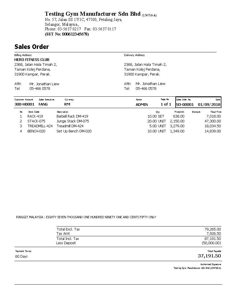 Invoice Format Free Download Sql Accounting Sql Payroll