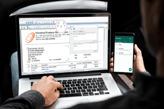 Whatsapp Accounting Software