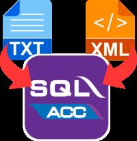 SQL Text & XML Import